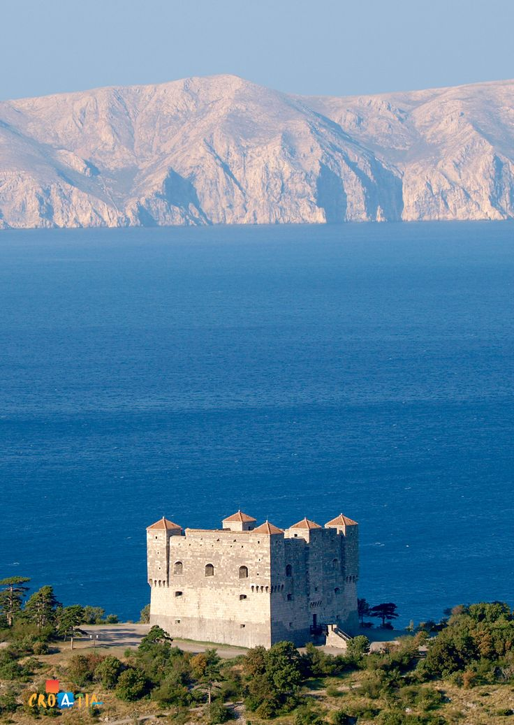 Fortress of Nehaj near Senj, Croatia. One of the most windswept castles I have experienced. Especially when the Bura blows.