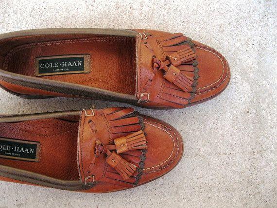 September's Thrift List: Tasseled Loafers (classic, vintage-preppy & super cute) #vintage loafers #preppy