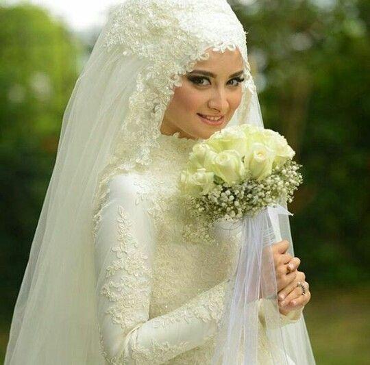 Hijab tesettür gelinlik