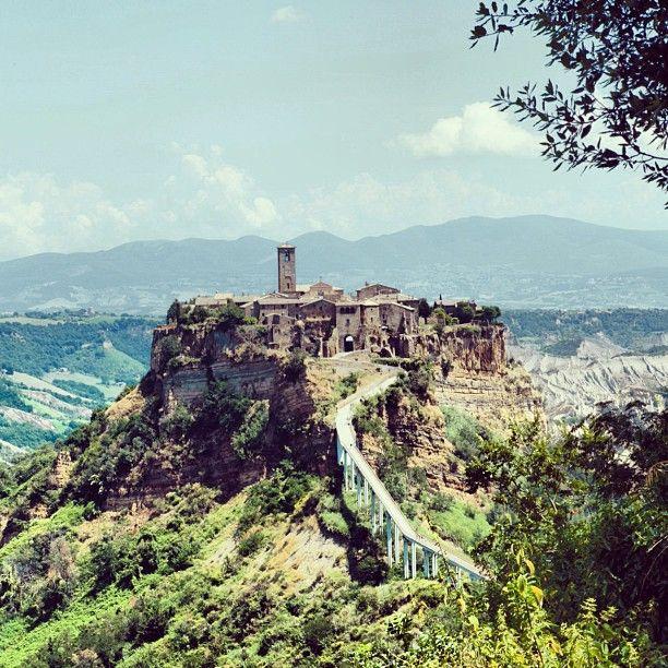 Civita di Bagnoregio nel Viterbo, Lazio