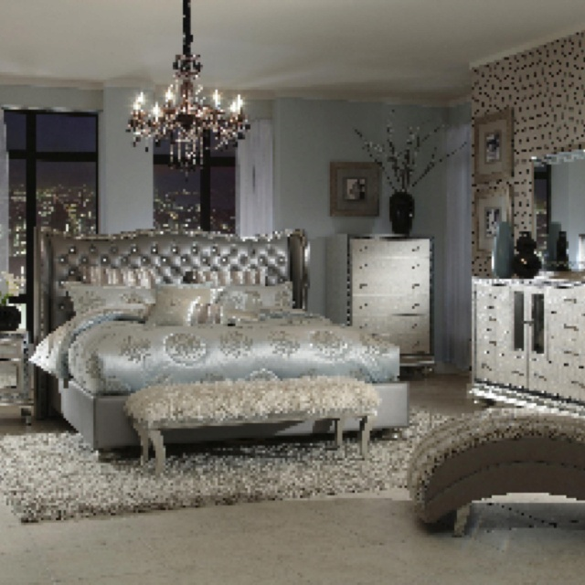 Lowest Prices On Discount Hollywood Swank Bedroom Set Aico Furniture. Buy  Hollywood Swank Bedroom Set Aico Furniture In A Group And Save More.