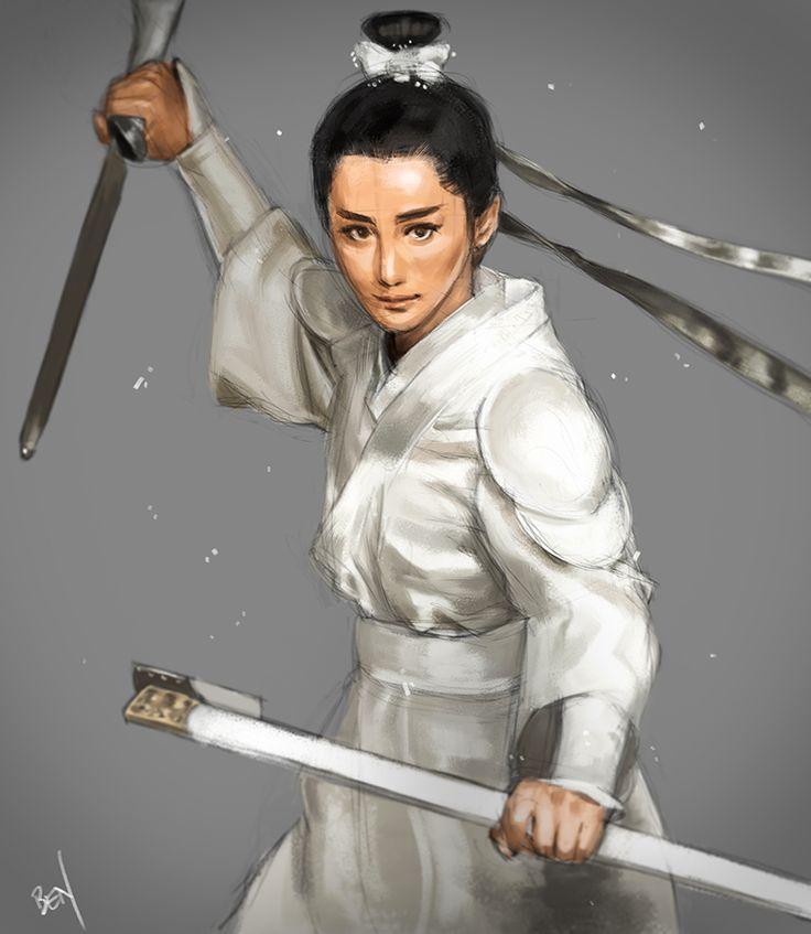 Benjamin Loembet - Samurai Girl