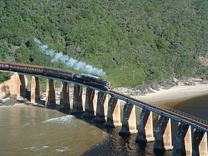 Outeniqua Choo Tjoe Steam Engine @ South Africa