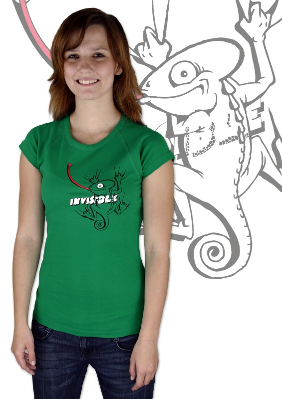 Chamäleon Damen T-Shirt    http://www.bastard-shop.de/damen-t-shirts/chamaeleon-damen-t-shirt-304/
