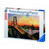 Ravensburger 17039 - San Francisco bei Nacht - 3000 Teile Puzzle