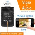 1080p HD WIFi Live View Internet Streaming Functional AC Adapter/Phone Charger Spy Camera W/ Audio