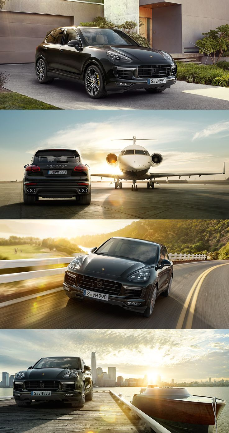 The new #PorscheCayenne Turbo S is the ultimate powerhouse in the Cayenne family. With regard to dynamic agility and handling, as well as design and equipment. Learn more: www.porsche.com/cayenne-turbo-s *Combined fuel consumption in accordance with EU 6: 11.5 l/100 km, CO2 emissions 267 g/km