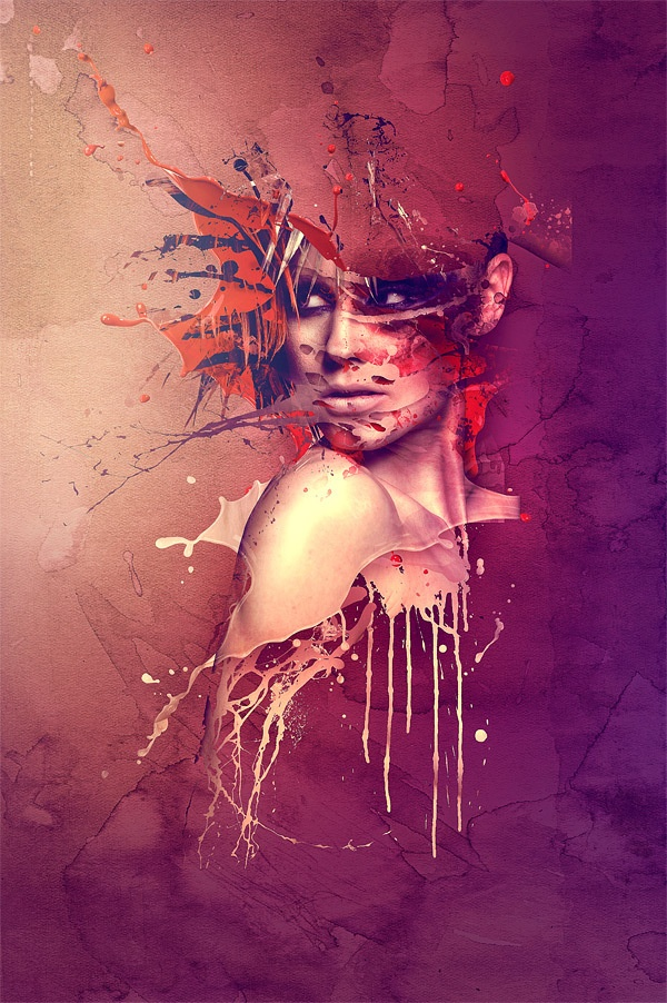 Tainted Soul - Anita by Guillermo Vaccarezza, via Behance