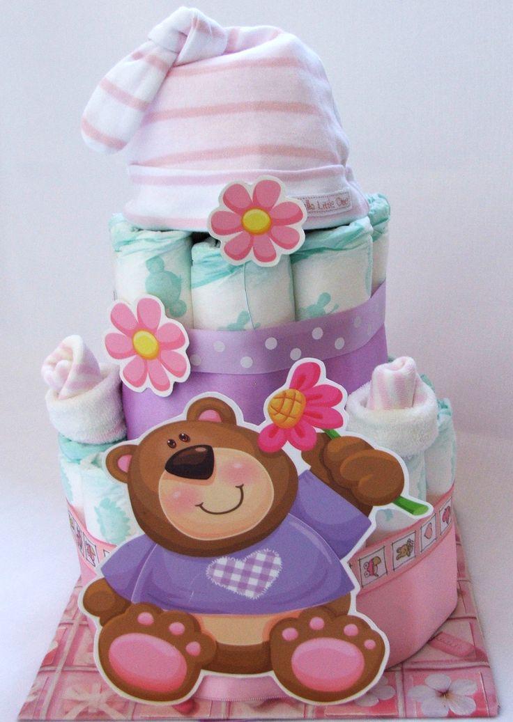 Plienková torta S medvedíkom