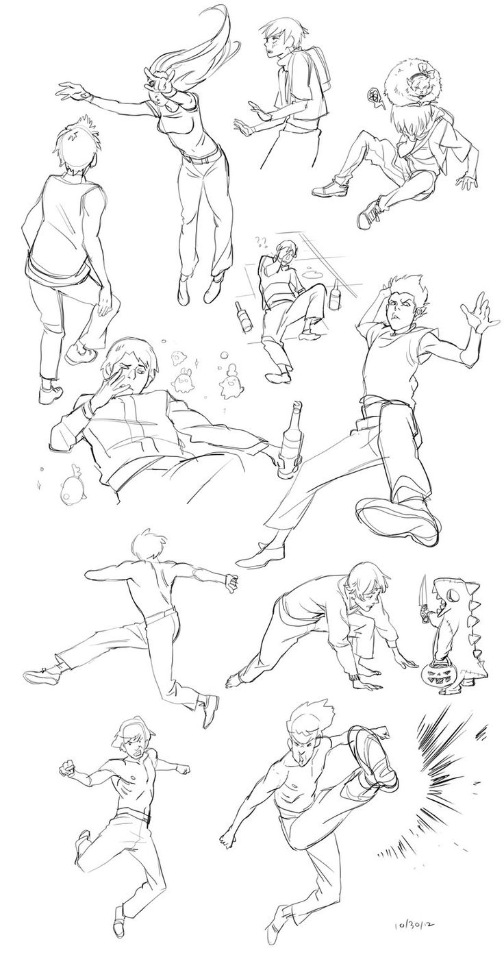 sketchdump 102912 by lychi on deviantART