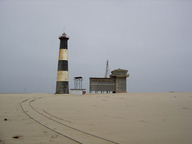 Pelican Point Lighthouse Namibia