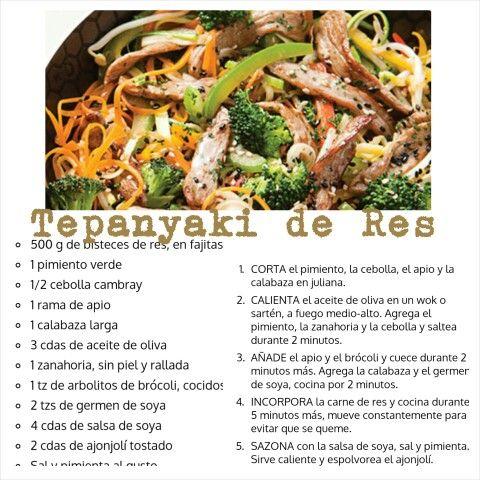 Tepanyaki de Res, para 4 personas