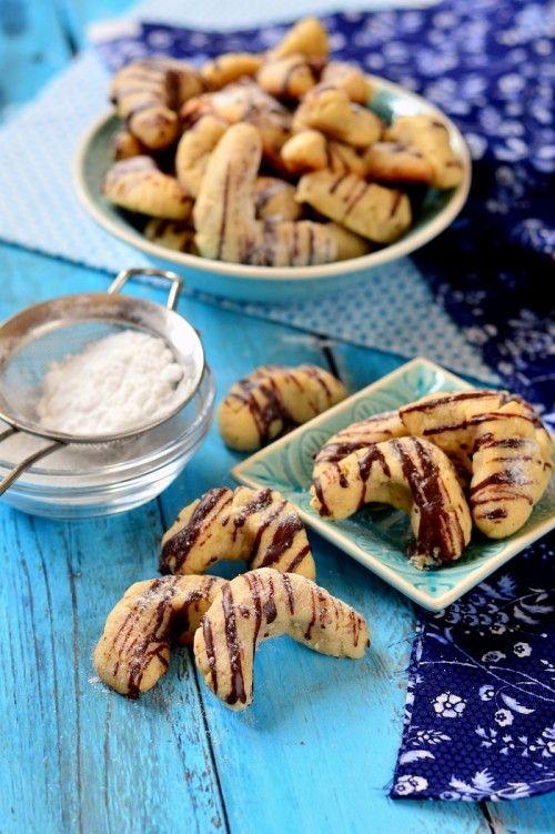 Mandulás-vaníliás kifli recept
