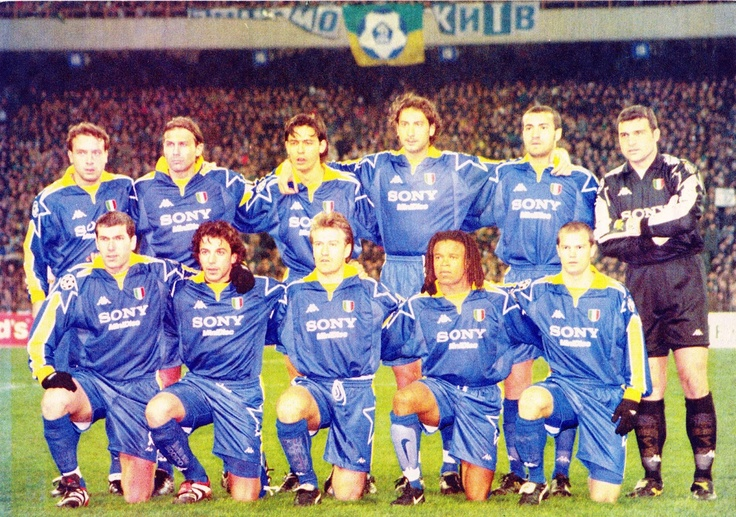 #Juventus 1997/1998... Zidane, Inzaghi, Del Pierro, Davids, Peruzzi, Conte, Deschamps
