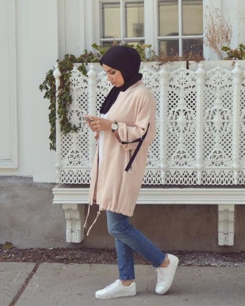 Sweater jacket hijab style-How to choose your daily hijab wear – Just Trendy Girls