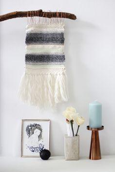 we love handmade | DIY: Mini-Wandteppich weben | http://welovehandmade.at