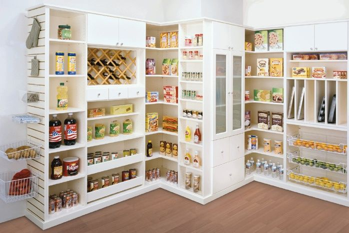 Economat cellier organisation pinterest pantry - Meuble de rangement cellier ...
