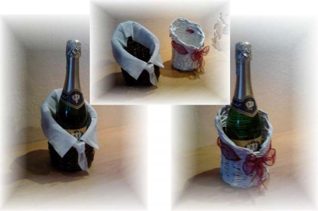 Darčekové balenie na fľašu :)