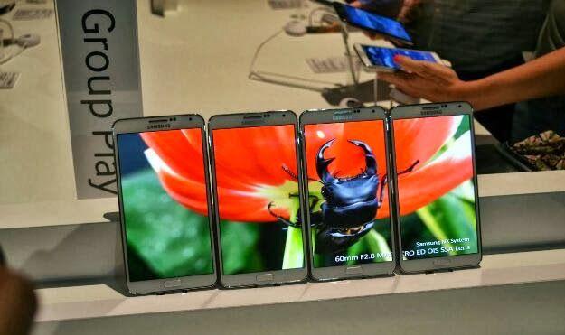 Veja a evolução de telas dos dispositivos da Samsung ao longo dos anos.
