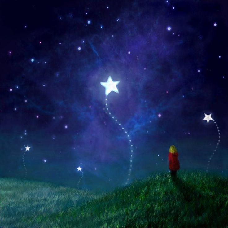 Star Upon Wish Falling
