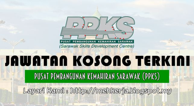 Jawatan Kosong di Pusat Pembangunan Kemahiran Sarawak (PPKS) - 15 July 2016   Pusat Pembangunan Kemahiran Sarawak (PPKS) mempelawa Warganegara Malaysia (anak Negeri Sarawak) yang berkelayakan untuk mengisi kekosongan jawatan sebagaimana di bawah:  Jawatan Kosong Terkini 2016 diPusat Pembangunan Kemahiran Sarawak (PPKS)  Positions:  1. SAFETY AND HEALTH OFFICER  2. ACADEMIC COUNSELOR  3. ELECTRICAL INSTRUCTOR  4. WELDING INSTRUCTOR  5. COMPUTER SYSTEM INSTRUCTOR  6. ELECTRICAL (POWER) LECTURER  7. ELECTRICAL ENGINEERING LECTURER  8. CIVIL ENGINEERING LECTURER  How to Apply:  Interested candidates are invited to write in with a complete resume stating details of personal particulars academic qualifications (result transcript) working experience current and expected salary contact number and non-returnable passport size photograph to:  Executive Director  PUSAT PEMBANGUNAN KEMAHIRAN SARAWAK  Jalan Canna Off Jalan Wan Alwi Tabuan Jaya  93350 Kuching  (Attn: Human Resource Unit)  Tel: 6082-364198 / 9  Or Email us at: hresource@ppks.edu.my   Please clearly mark the position title in the SUBJECT line of your email. Email without the job title in the SUBJECT line may not be considered.  Our Website: www.ppks.edu.my  (Only shortlisted candidates will be notified)  Closing Date: 15 July 2016  Sila baca syarat kelayakan dan maklumat lain sebelum memohon melalui link di bawah  Click Job Description & How to Apply  Kerja Kosong Terkini Negeri Sarawak  The objectives of the Centre are;  To establish a skills centre for the benefits of its members the public sector and the industries to meet their immediate and future related needs and avoid mismatch  To work closely with the State Government public and private sectors in the areas of human resource and technical training development to assist in the economic development of the state of Sarawak;  To provide the training needed in the areas of technical management and such other skills as may be required by the public and private s