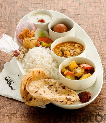 Thali - Lunch in India