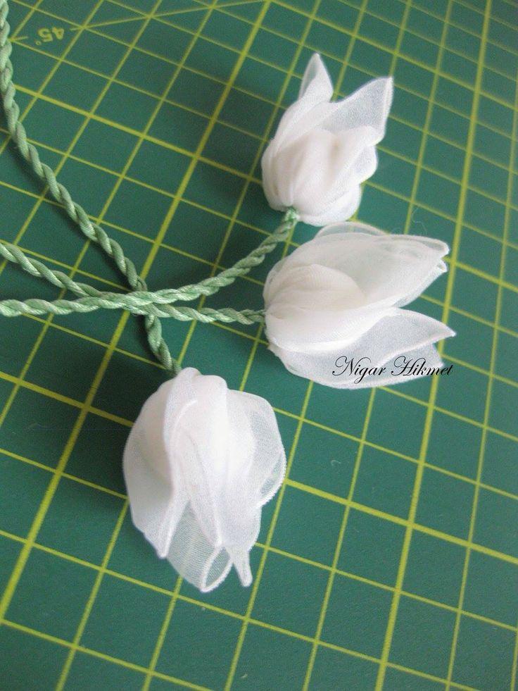 Nigar Hikmet's Ribbon tulips