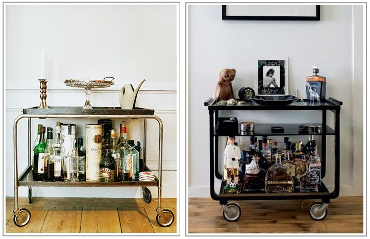 Modern Drink Trolley Living Room Pinterest Cocktails