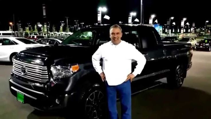 Portland Toyota dealership customer talks about purchasing his 2015 Toyo...