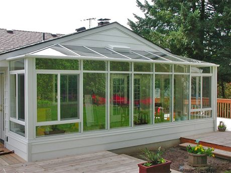 Sun porch greenhouse kits sunroom kits diy do it Do it yourself sunroom