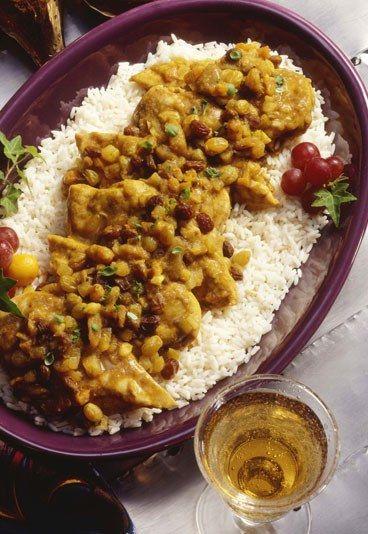 Receta: Guisantes con patatas al curry - 10 recetas vegetarianas rápidas y sencillas