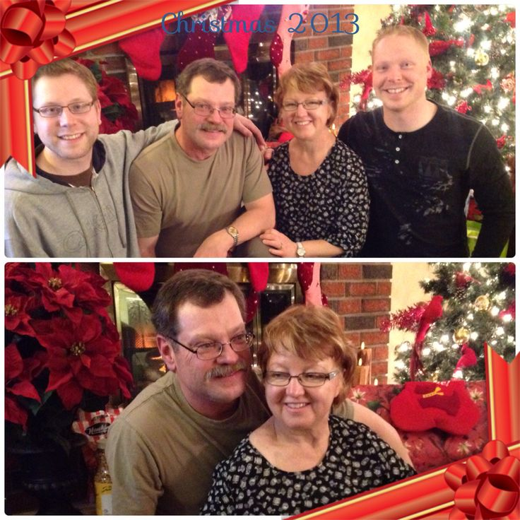 Family picture Christmas 2013