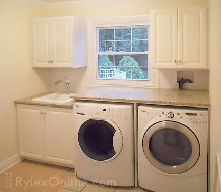 laundry cabinets with counter
