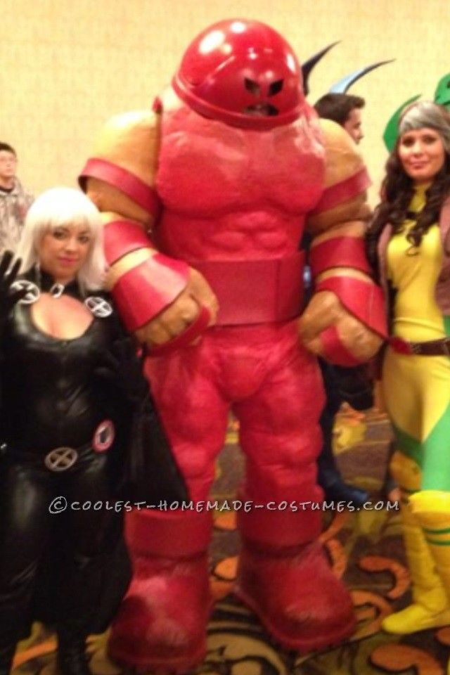 Homemade Juggernaut Costume from X-Men    Halloween Costume ContestX Men Juggernaut Costume