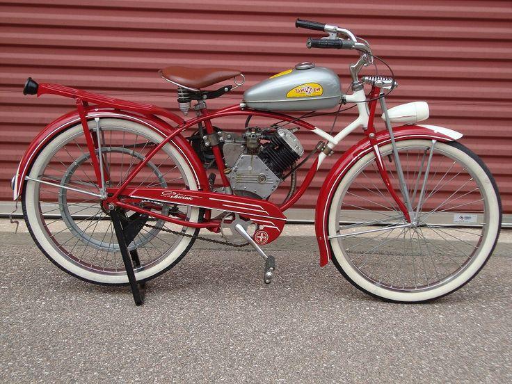 Vintage Motor Bicyle