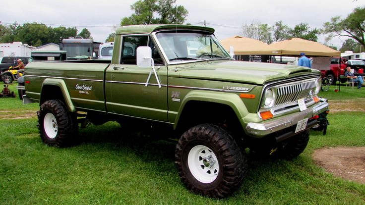 1973 Jeep Gladiator  Maintenance/restoration of old/vintage vehicles: the material for new cogs/casters/gears/pads could be cast polyamide which I (Cast polyamide) can produce. My contact: tatjana.alic@windowslive.com