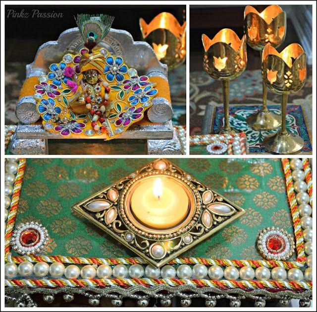 brass Diya, Ethnic Indian Décor, Festive Seasons, Indian Festivals, Indian Inspired Decor, Janmashtmi décor, Temple décor, traditional décor