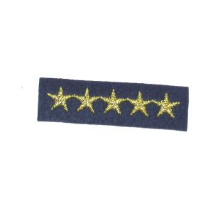 Iron On Patch Applique - Military Stars Bar