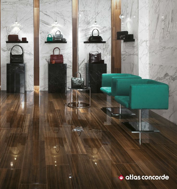 Exceptional The Incisive Personality, Originality And Bright Character Of Extremely  Shiny Wood Look Porcelain Tiles Perfectly