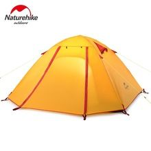Naturehike Outdoor Camping Tent 2 – 4 Person Aluminum Pole Waterproof 5000mm Double Layer Hiking Travel Fishing Tents NH15Z003-P
