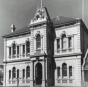 Waterloo Town Hall. 1957