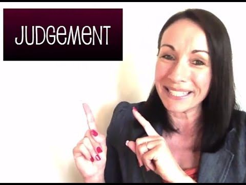 VIDEO:  Monday Morning Manifestation:  Losing the Need to Judge Judgement with Coach Bobbi #judgement #coachbobbi #women #relationship #success #monday