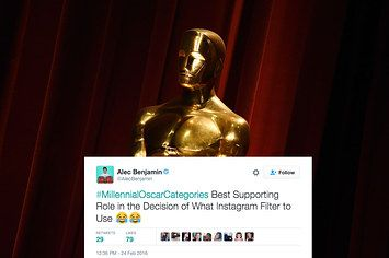 """23 Tweets About """"Millennial Oscar Categories"""" That Are Way Too Real"""