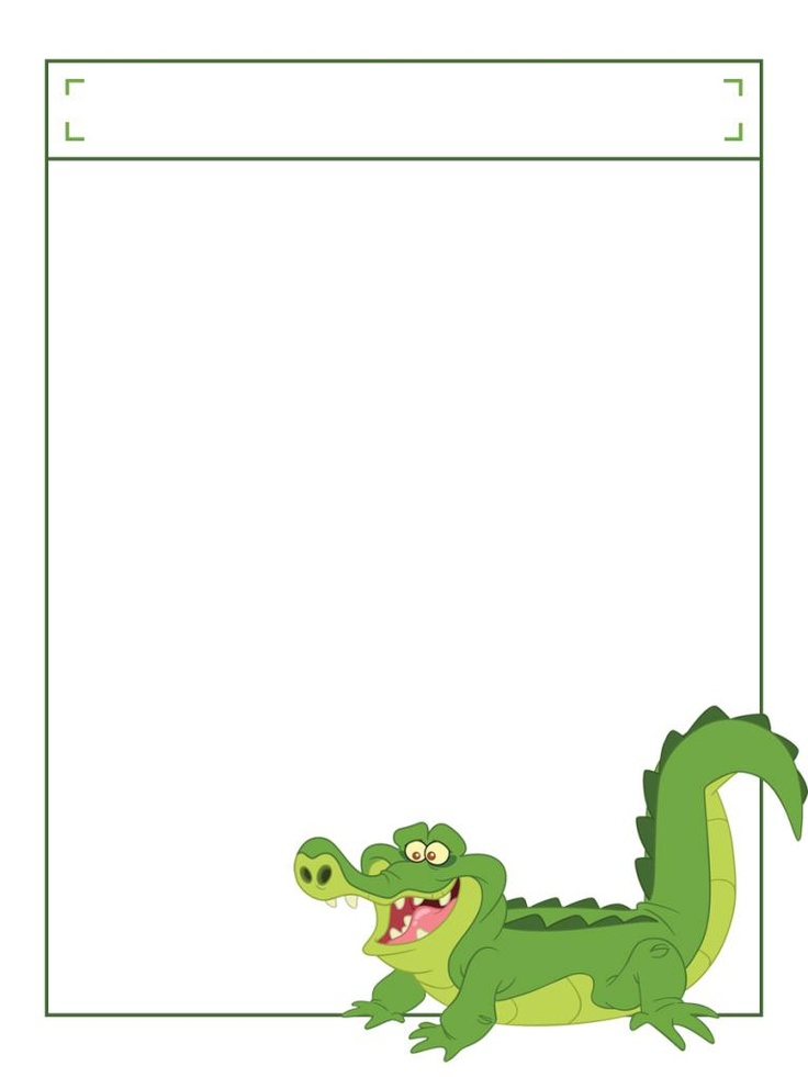 "Tick Tock Croc (from Jake & TNLP) with title box - Project Life Disney Journal Card - Scrapbooking. ~~~~~~~~~ Size: 3x4"" @ 300 dpi. This card is **Personal use only - NOT for sale/resale** Logos/clipart belong to Disney. ***Click through to photobucket to see this this card with lots of different characters***"