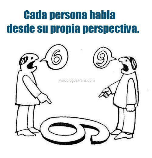 """""""todo punto de vista es la vista de un punto"""" #comunicación"""