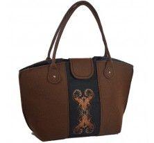 torebka z filcu, z haftem,personalizowana
