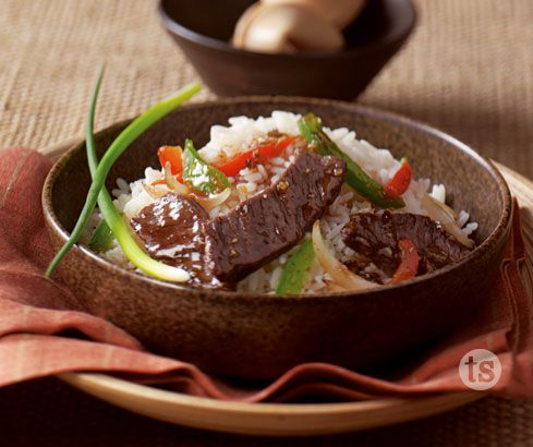 Unexpected company?  Here is a quick and easy oriental style dish you can whip up in no time!