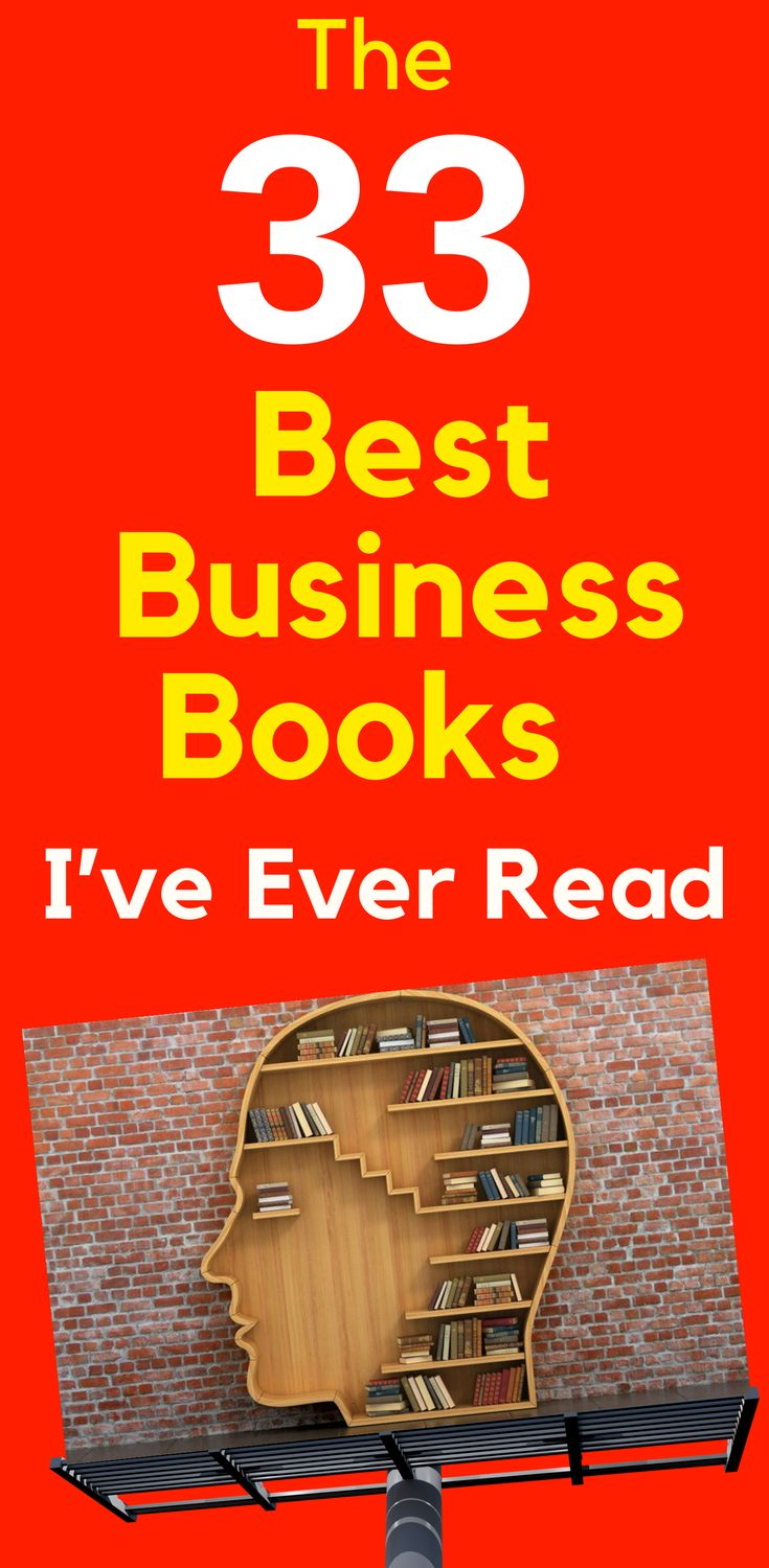 The 33 Best Business Books I've Ever Read. We all understand the potential impact of a great book. In business, the right book at the right moment can tilt the playing field and give you a crucial advantage. These 33 #business #books have personally made a huge difference for me. Learn more...