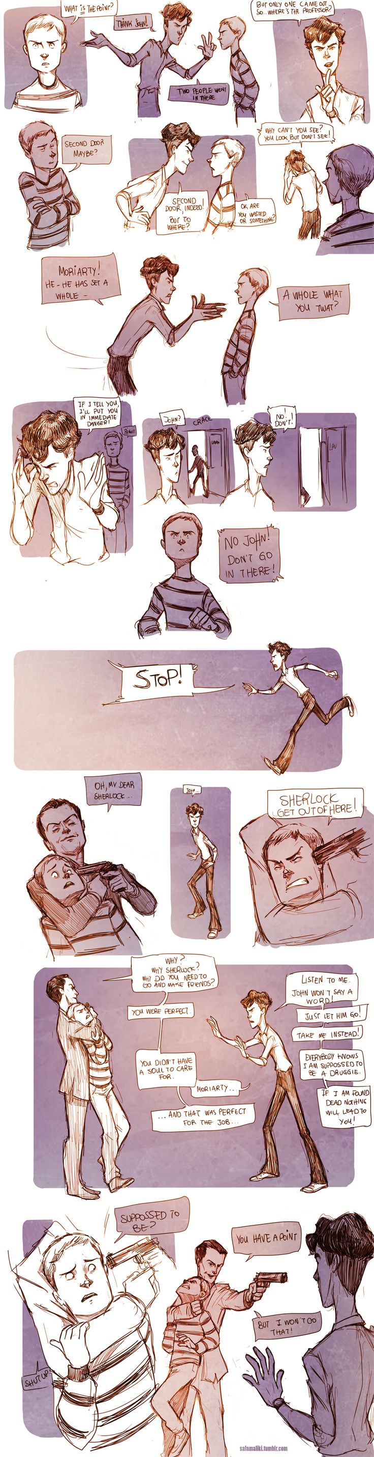 Teen Sherlock- The Boomerang Pt3 by DrSlug on DeviantArt