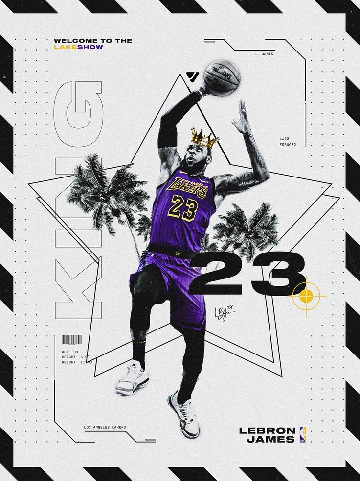 30 Days. 30 Teams. 30 Posters. on Behance in 2020 Lebron